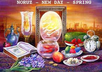 Noruz painting, Haft Seen