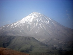 Damavand Peak, Alborz mountains, Tehran, Iran, 2 June 2008