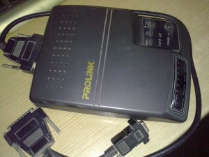My 19 years old Prolink 1419LE Fax modem