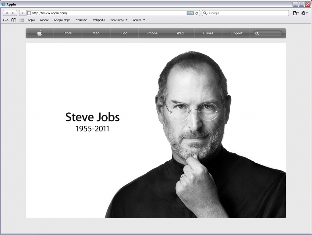 RIP Steve Jobs Apple CEO and Co-Founder, PIXAR