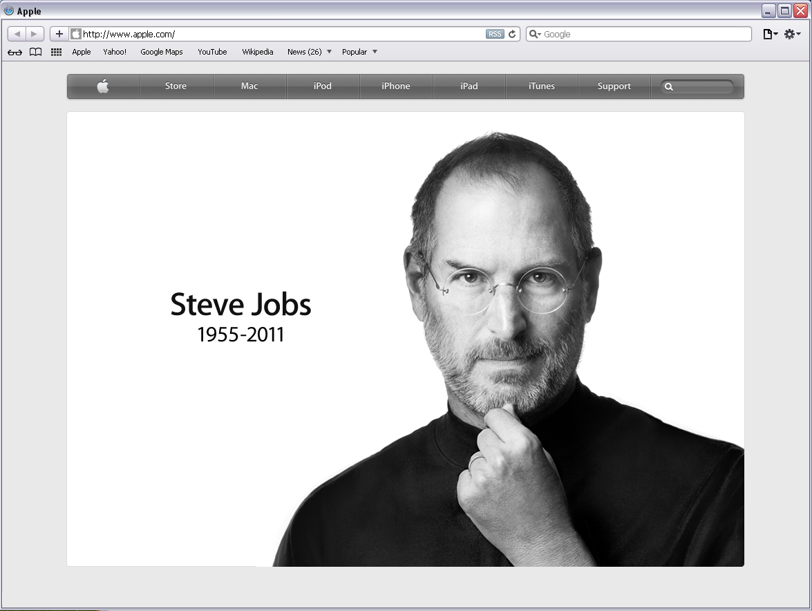 Tribute To Steve Jobs 1955 2011 Paymaan Jafari S Brain